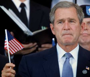 george-bush-us-flag