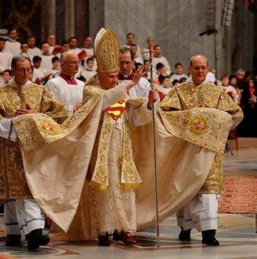 Pope Benedict XVI - A God given Super Hero