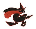 witch on broomstick120