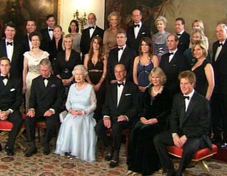 Royal Family Portrait The Mad Hatters