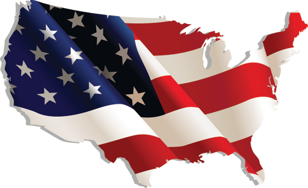 Usa different perspectives usa flag