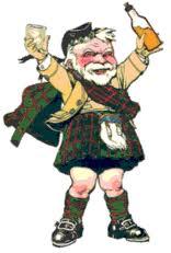 drunk scotsman