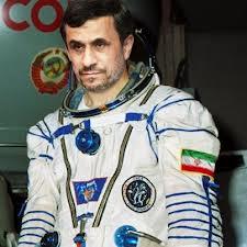 Mahmoud Ahmadinejad astronaut