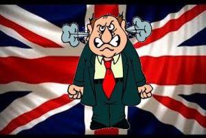 angry british man