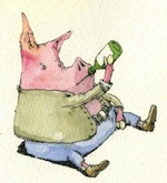 pig-drinking-150