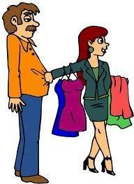 reluctant shopper