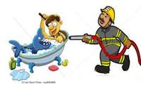 fireman and man in bath200