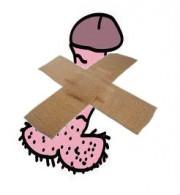 bandaged penis