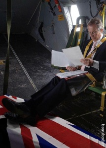 blair feet on coffin