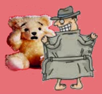 flasher teddybear200