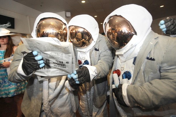 AXE Astronauts Bring A Taste Of Space To The Kentucky Derby
