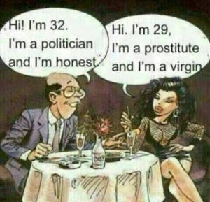 politician and prostitute