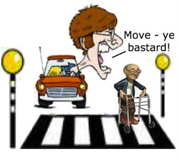 crossing rage