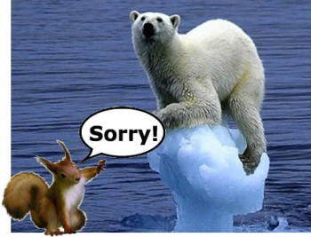 squirrel and polar bear