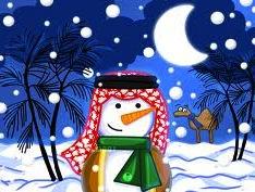 saudi snowman1