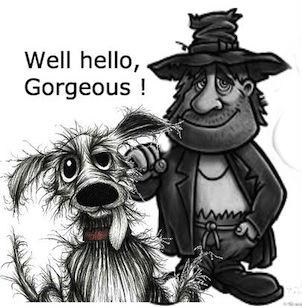 scruffyman with dog2