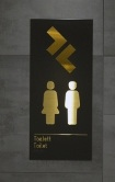 swedish unisex toilet sign