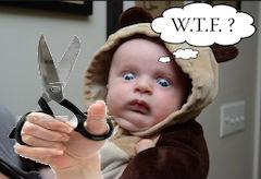 baby facing circumcision
