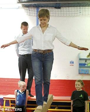 sturgeon on balancing bar