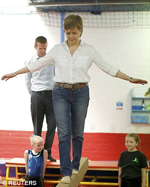 sturgeon on balancing bar