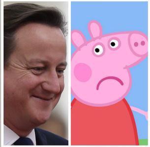 david cameron and pig