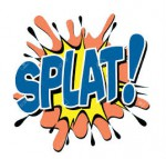 splat white background