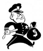 thieving cop