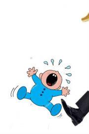trump kicks baby out