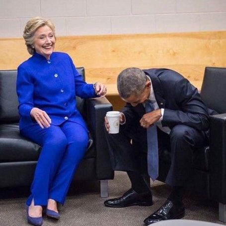 clinton-and-obama-laughing