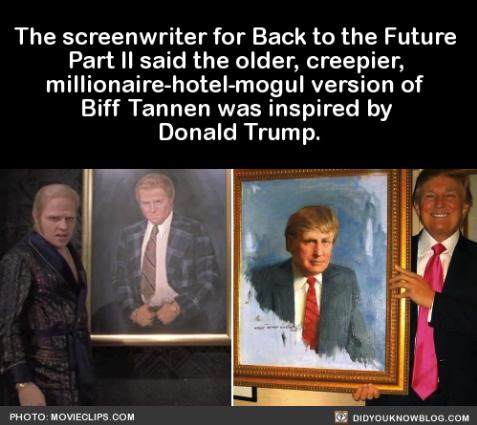Trump is Biff Tannen
