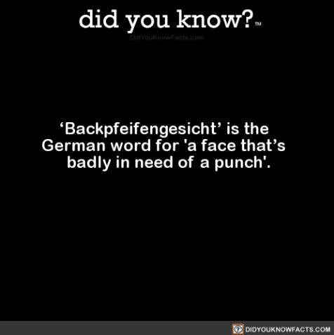 punch face